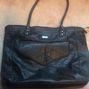 EUC Roxy Faux Leather Shoulder Bag